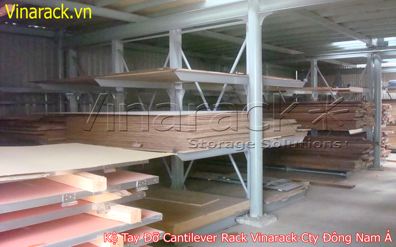 Cantilever rack project with Southeast Asian companies