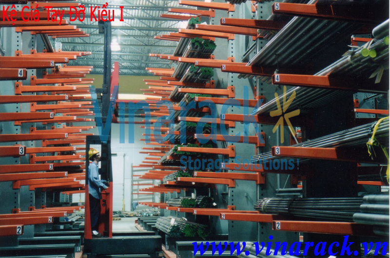 warehouse forms medium duty cantilever rack