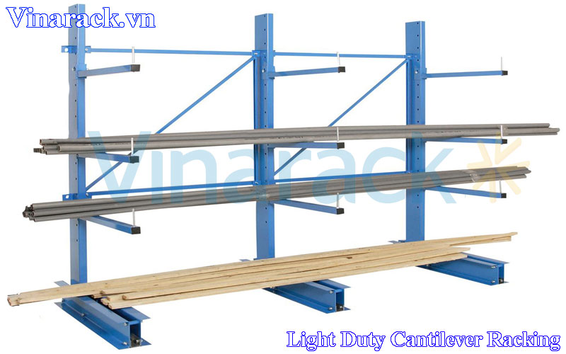 Canlilever Racking Light Duty Powder Coated