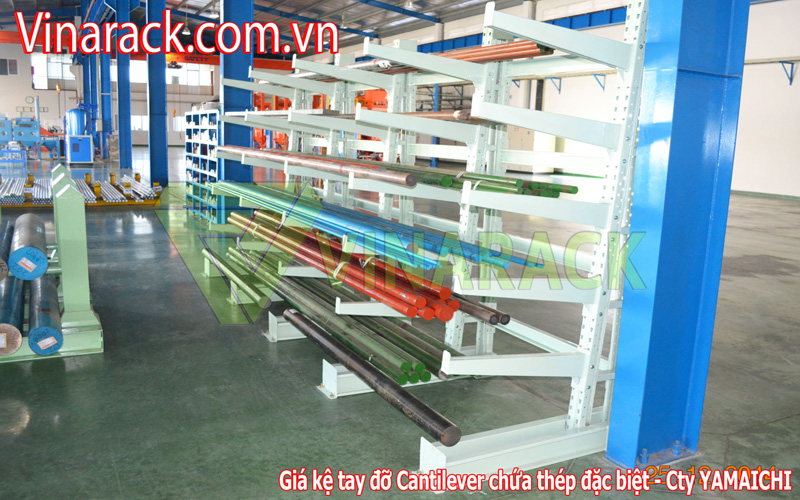 Cantilever rack