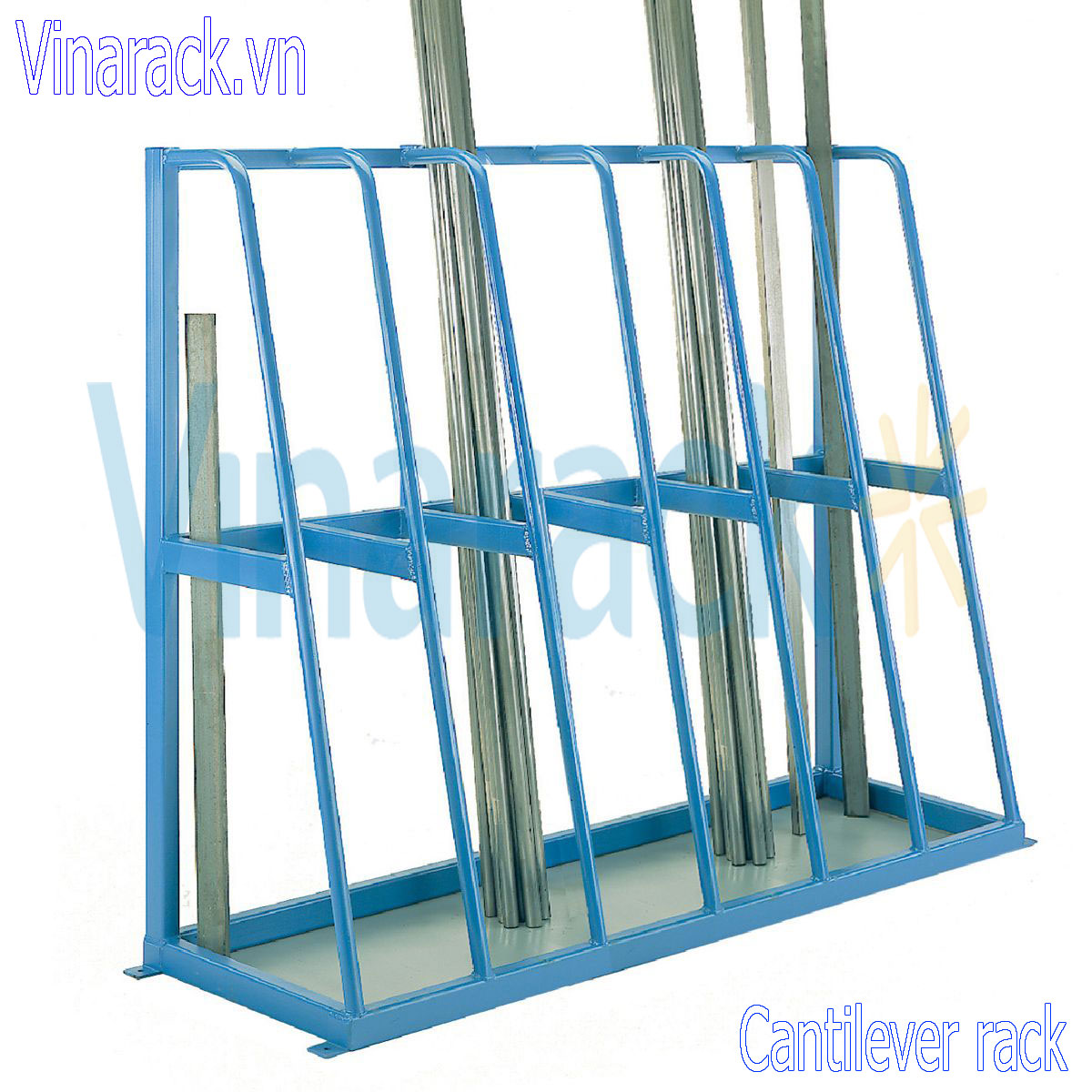Cantilever Racking Tubes Containing Industrial